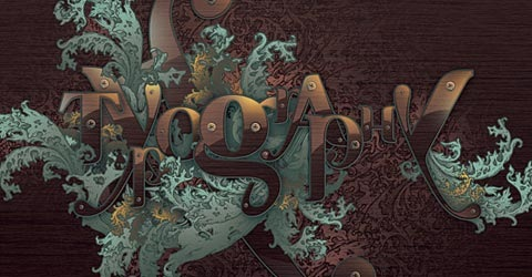 typography 100 Best Photoshop Tutorials From 2009