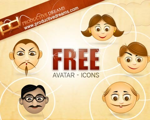 avtaricons 70 Free High Quality PSD File Design Resources
