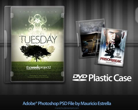 dvdplasticcase 70 Free High Quality PSD File Design Resources