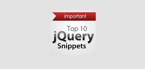 jquery-snippets