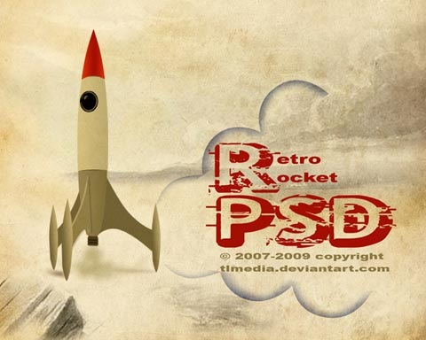 rocket 70 Free High Quality PSD File Design Resources