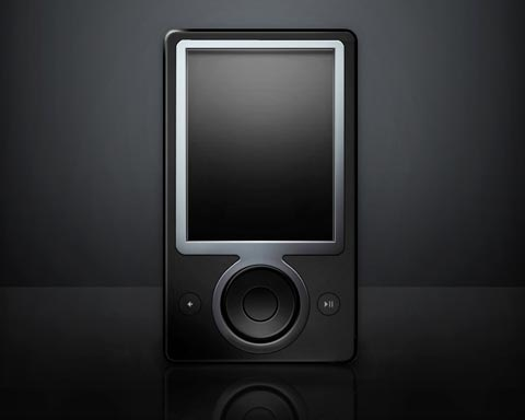 zunemp3player 70 Free High Quality PSD File Design Resources
