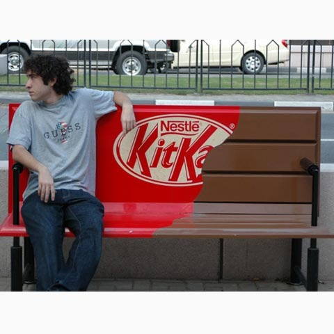 kitkat 100 Most Funny and Creative Advertisement Designs