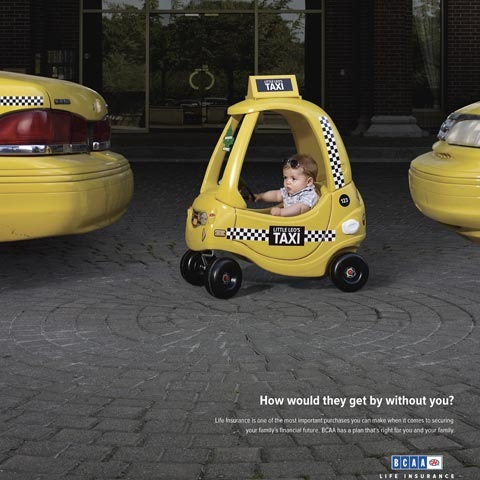taxi 100 Most Funny and Creative Advertisement Designs