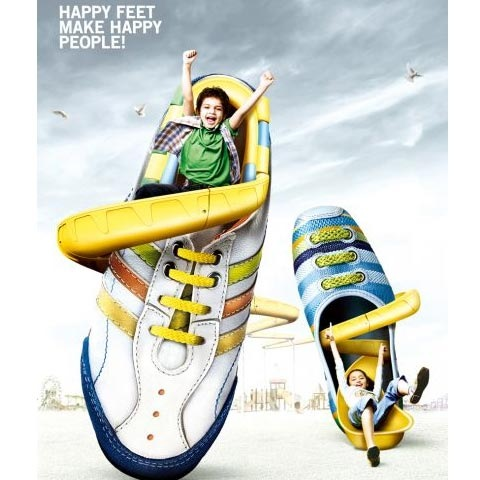 trainers 100 Most Funny and Creative Advertisement Designs