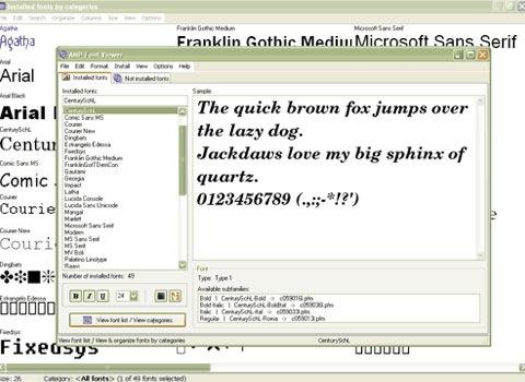 fontvieweer 25 Free Portable Programs For Designers and Web Developers ওয়েব ডিজাইন এর ২৫ টি সফটওয়্যার