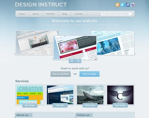 brightsleekwebdesign 80 Fresh Photoshop Tutorials For Creating Awesome Websites