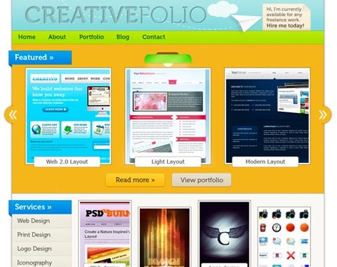 creativefolio 80 Fresh Photoshop Tutorials For Creating Awesome Websites