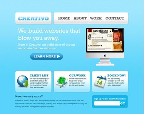 creativo 80 Fresh Photoshop Tutorials For Creating Awesome Websites