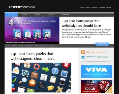fancydesign 80 Fresh Photoshop Tutorials For Creating Awesome Websites