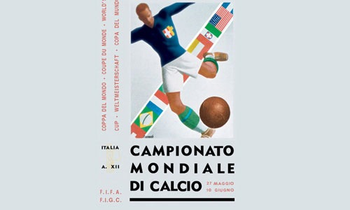 italywordcuplogo The Evolution Of The World Cup Logo From 1930 To 2010