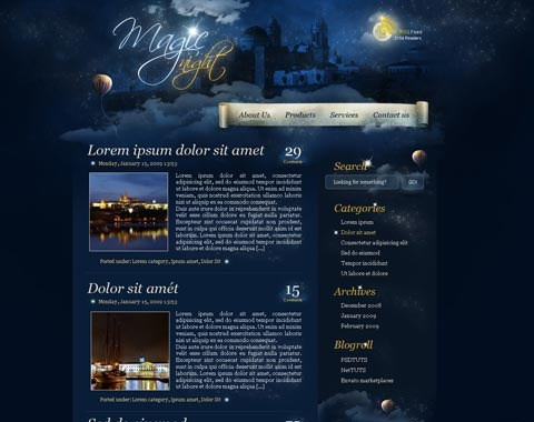 magicallight 80 Fresh Photoshop Tutorials For Creating Awesome Websites