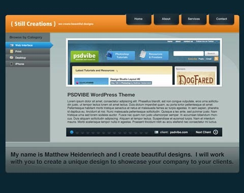 modernweblayout 80 Fresh Photoshop Tutorials For Creating Awesome Websites