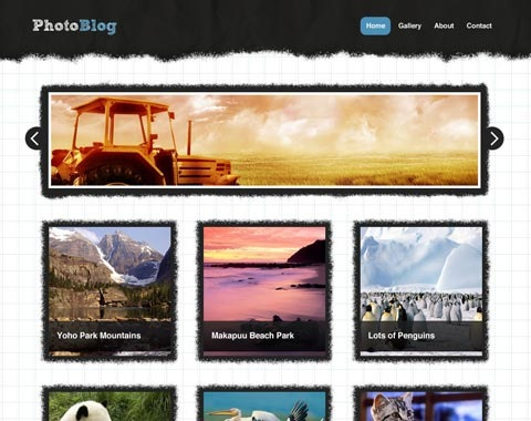photoblog 80 Fresh Photoshop Tutorials For Creating Awesome Websites
