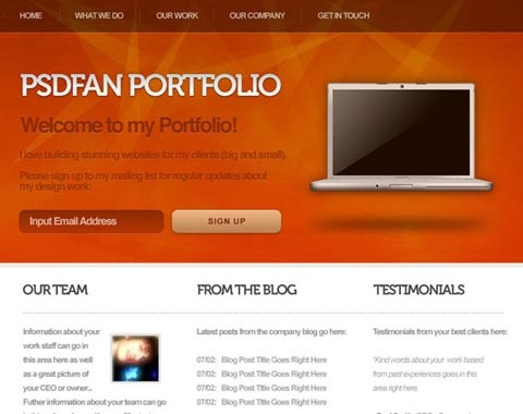 psdfantut 80 Fresh Photoshop Tutorials For Creating Awesome Websites