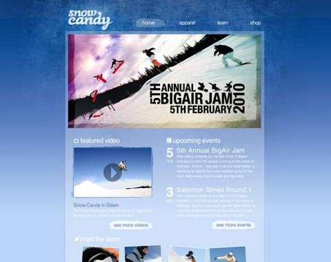 snowcandy 80 Fresh Photoshop Tutorials For Creating Awesome Websites