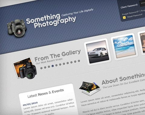 somthingphotography 80 Fresh Photoshop Tutorials For Creating Awesome Websites