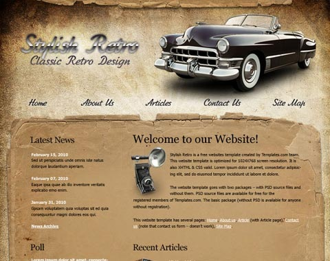 stylishretro 80 Fresh Photoshop Tutorials For Creating Awesome Websites