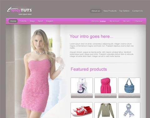 trendyecommerce 80 Fresh Photoshop Tutorials For Creating Awesome Websites