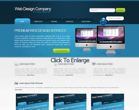 webdesigncompany 80 Fresh Photoshop Tutorials For Creating Awesome Websites