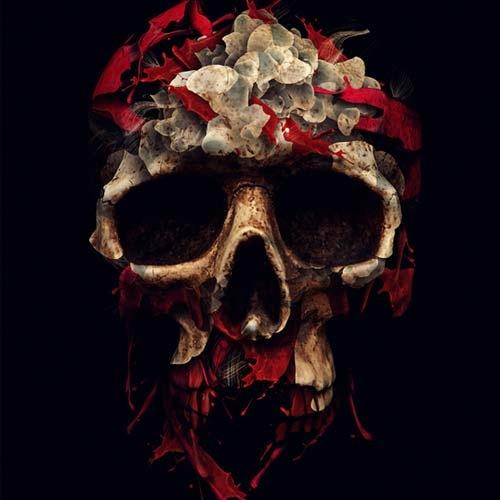 skull-flower
