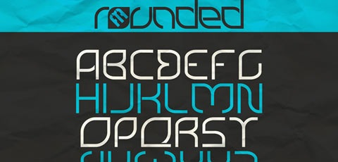 ROUNDED 50 High Quality Fonts Every Designer Must Download