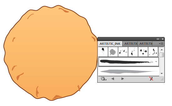 cookie 09 How to Create a Delicious Chocolate Chip Cookie In Illustrator