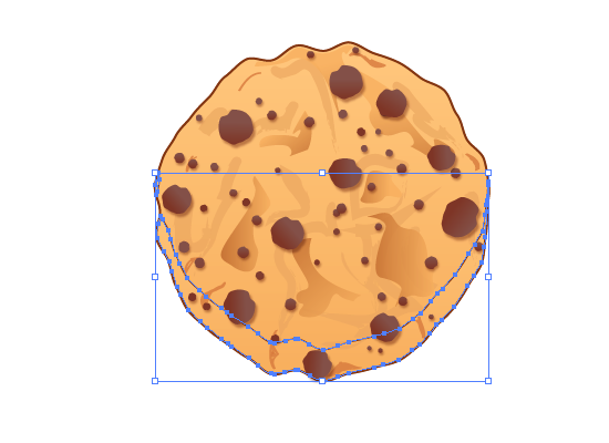 cookie 27 How to Create a Delicious Chocolate Chip Cookie In Illustrator