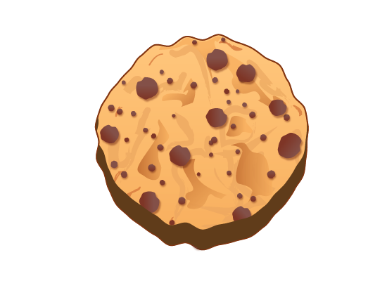 cookie 28 How to Create a Delicious Chocolate Chip Cookie In Illustrator