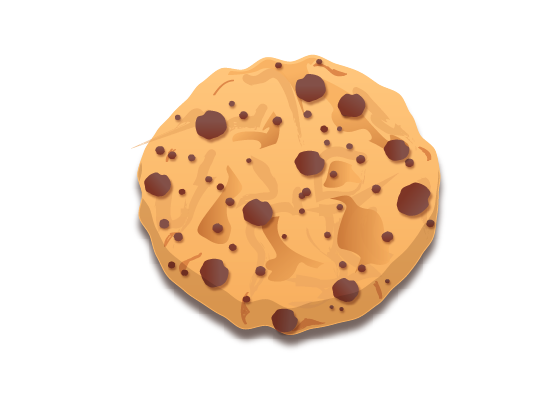 cookie 33 How to Create a Delicious Chocolate Chip Cookie In Illustrator