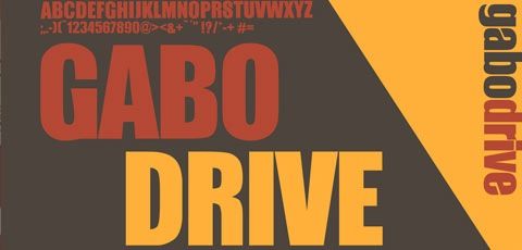 gabodrive 50 High Quality Fonts Every Designer Must Download