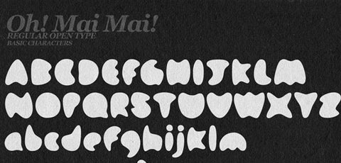 oimai 50 High Quality Fonts Every Designer Must Download