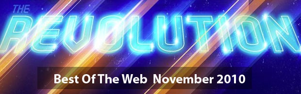 bestofwebbanner Best Of Web And Design In November 2010