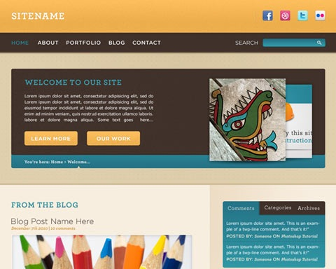 cheerful 20 Best Design Tutorials From 2010 To Create an Mind blowing Website