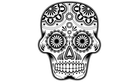 vectorsugarskull 50 Best Illustrator Design Tutorials From 2010