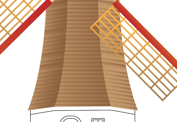 43 How To Create A Beautiful Windmill Illustration Using Illustrator