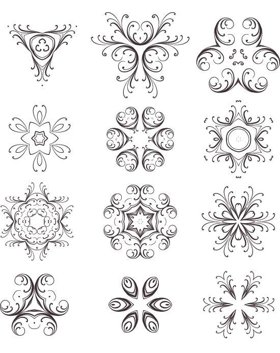 decoraivevectorset A Spectacular Creative Vector Elements Set Freebie