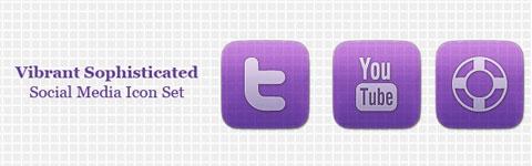 vibrant-social-media-icon