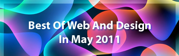 bestofwebdesignmay Best Of Web And Design In May 2011