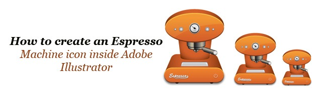 coffiemachinebanner How To Create An Espresso Machine Icon Inside Adobe Illustrator