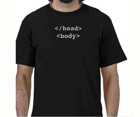 headbody 20 Funny T shirt Designs For designers And Web designers