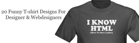i know html 20 Tutorials For Creating T Shirt Designs