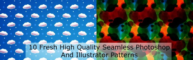 frehpatternsbanner 10 Fresh High Quality Seamless Photoshop And Illustrator Patterns
