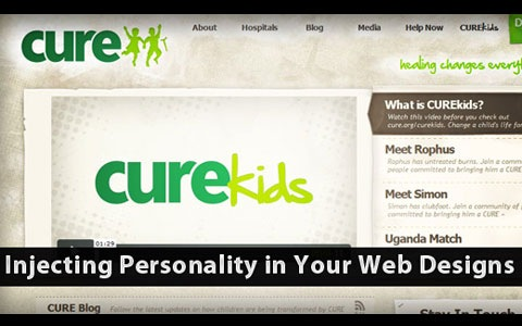personality Best Of Web And Design In July 2011