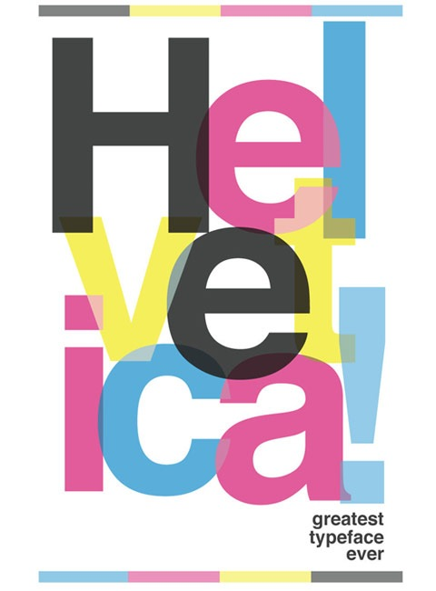 helvicita 20 Truly Beautiful Typography Poster Designs