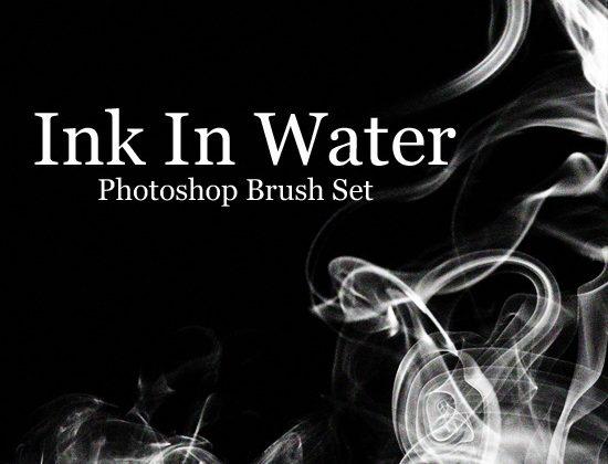 inkinwaterphotoshopbrush