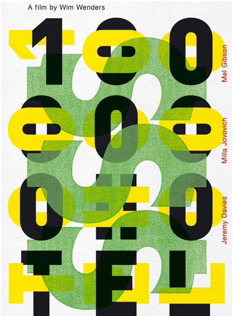 wimwenders 20 Truly Beautiful Typography Poster Designs