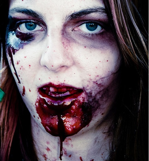 bloodyzombie 20 Of The Most Terrifying Halloween Zombie Portraits