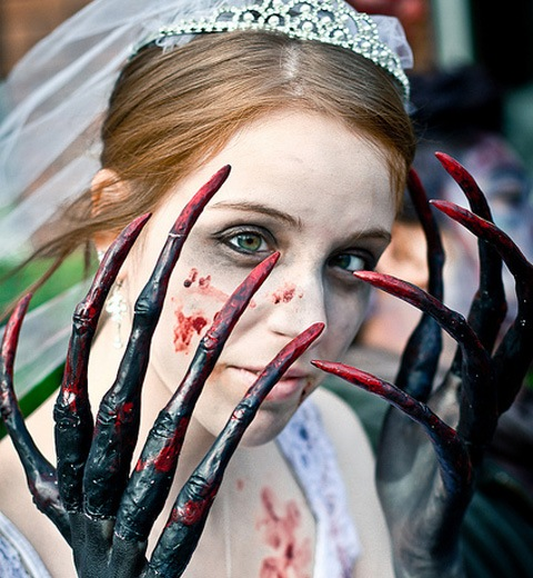 killthewhitch 20 Of The Most Terrifying Halloween Zombie Portraits