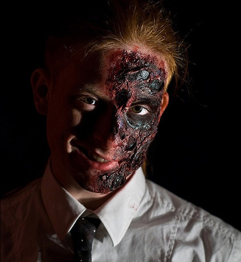 twoface 20 Of The Most Terrifying Halloween Zombie Portraits